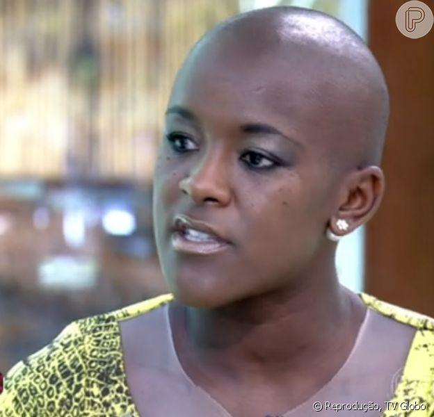 Angélica comentou os ataques racistas sofridos por sua participação no 'BBB'15', durante entrevista ao 'Mais Você': 'Manifesto ridículo'