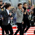 British singing group One Direction performs on NBC's 'Today' at Rockefeller Plaza in New York City, NY, USA, on November 13, 2012. Photo by Dennis Van Tine/ABACAPRESS.COM14/11/2012 - New York Cty