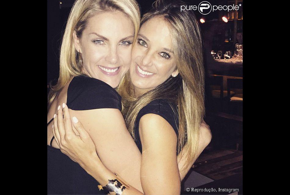 ccbb9ab40b464 Relembre momentos da amizade de Ticiane Pinheiro e Ana Hickmann ...