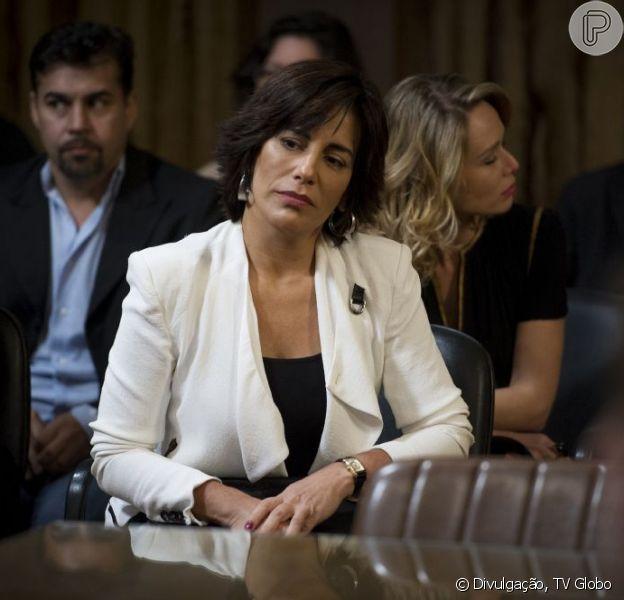 Gloria Pires foi vítima de um crime virtual e procurou a delegacia especializada em abril de 2013. A atriz está no ar na novela 'Guerra dos Sexos'