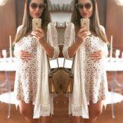 Fernanda Machado assume dificuldade para se vestir bem na gravidez: 'Desafio'
