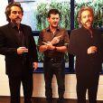 'Dois Comendadores é muita encrenca', postou Roberto Birindelli posando entre o Zé Alfredo de verdade e uma réplica