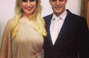 Fernanda Keulla vai ao casamento da irmã de seu príncipe, André: 'Cunhada linda'