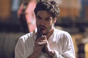 Final da novela 'Império': Cristina impede Zé Pedro de se matar.'Você vai viver'