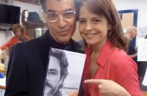 Cora de volta em 'Império'? Drica Moraes visita último dia de gravação da novela