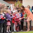 Kate Middleton visitou o Centro Infantil de Doentes Terminais, Naomi House, em Londres