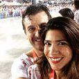 Juliana Sarda garante que não sente ciúmes do assédio com o marido: ' Ele batalhou tanto na carreira, seria incapaz de podar este momento'