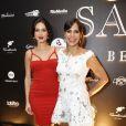 Carol Sampaio recebeu Thaila Ayala em sua festa de aniversário