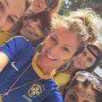 Ellen Jabour usou camiseta da Seleção Brasileira no movimento anti-Dilma Rousseff