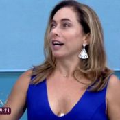 Cissa Guimarães comenta sutiã arrebentado no 'Mais Você': 'Coisa muito séria'