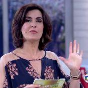 Fátima Bernardes não apresenta 'Encontro' por espinha no nariz: 'Sangrou muito'