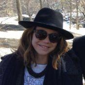 Leandra Leal viaja para Nova York após fim de 'Império': 'Neve em família!'