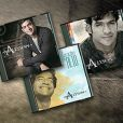 Na foto, os três discos gravados por Allyson Castro, o novo namorado de Deborah Secco