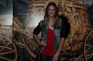 Juliana Paiva e Polliana Aleixo prestigiam a pré-estreia do filme 'Cinderela'