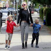 Gwen Stefani leva os filhos estilosos, Kingston e Zuma, para um dia de compras