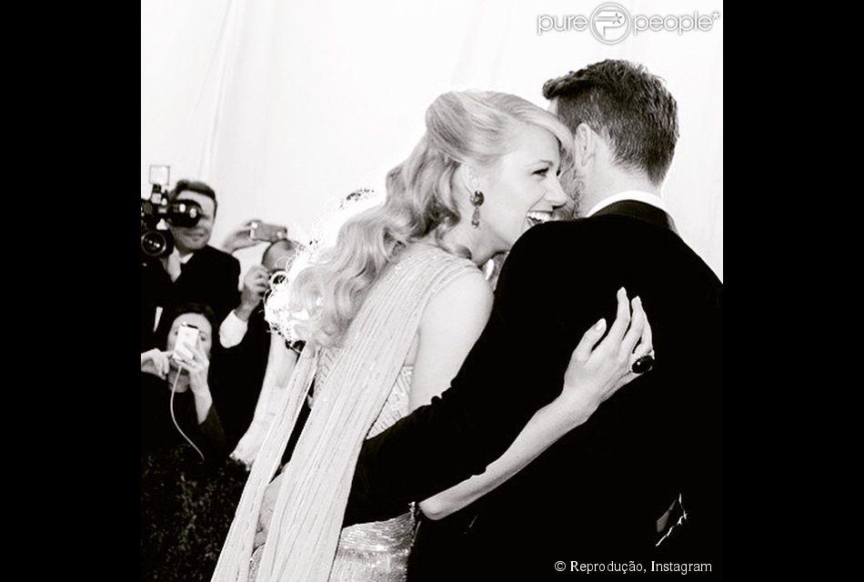 Blake Lively e Ryan Reynolds são pais de James, de três meses