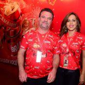 Adriano Garib, o Russo de 'Salve Jorge', e Analine Barros reatam namoro