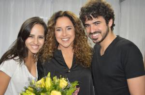 Daniela Mercury faz show no Dia das Mães com os filhos e Malu Verçosa na plateia