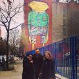 Leandra Leal viajou para Nova Yoork, Estados Unidos, com o marido, Alê Youssef, e a mãe, Angela
