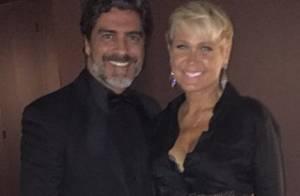 Xuxa vai à festa de emissora argentina com o namorado, Junno Andrade: 'Feliz'