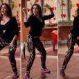 Damáris (Marisa Orth) junta as amigas e faz um show no lugar das Mulheres Fruta, em 'Sangue Bom'