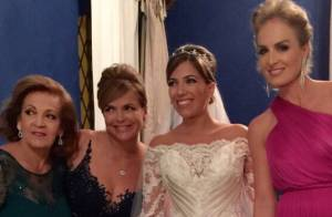 Famosos vão ao casamento de Nathy Marbá, sobrinha de Angélica, em castelo no RJ