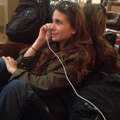 Giovanna Antonelli sofre com voos atrasados por causa de chuva no Rio