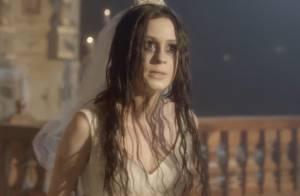 Marina Ruy Barbosa se suicida vestida de noiva em 'Amorteamo'. Veja Fotos!