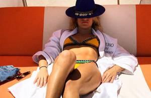 Giovanna Ewbank exibe boa forma em foto de biquíni postada por Bruno Gagliasso