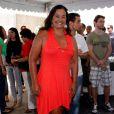 Solange Couto posa antes de engravidar de Benjamin, em 2010