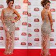 Giovanna Ewbank escolheu um modelo de renda assinado pela estilista Patricia Bonaldi para ir a première do filme italiano 'La Grande Bellezza', na noite de terça-feira (21)