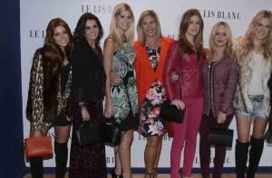 Marina Ruy Barbosa e Giovanna Lancellotti participam de evento ao lado das mães