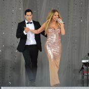 Mariah Carey é traída pelo vestido durante apresentação ao vivo na televisão