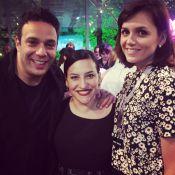 Monica Iozzi e elenco de 'Alto Astral' comemoram reta final da novela com festa