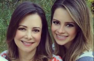 Sandy ganha declaração da mãe, Noely, sobre maternidade: 'Melhor mãe do que eu'