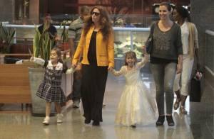 Giovanna Antonelli conta que filhas gostam de usar suas roupas: 'Acho um barato'