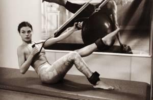 Isis Valverde aposta no pilates e treino funcional para manter a boa forma