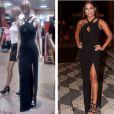 Anitta virou alvo de comentários por usar um vestido de uma loja popular no casamento de Fernanda Souza com Thiaguinho
