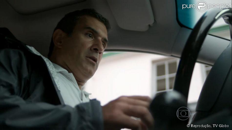 Cena de acidente de carro do personagem de Marcos Pasquim da novela 'Babilônia' foi reciclada de 'Insensato Coração', exibida em 2011