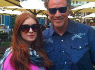 Marina Ruy Barbosa tieta o ator Will Ferrell durante viagem pela Itália
