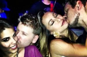 João Vicente publica foto romântica com Sabrina Sato e casal de amigos