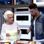 Ana Maria Braga dança com Lucas Lucco e critica comida do cantor:'Gosto de nada'