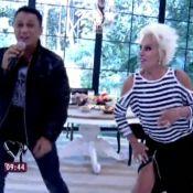 Ana Maria Braga requebra ao dançar funk com MC Leozinho durante o 'Mais Você'