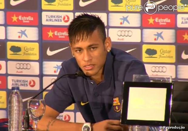 Neymar sobre apresentação no Barcelona   Me segurei muito para não ... 8661aaf9f8a8c
