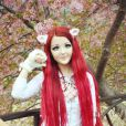 Apaixonada por borboletas, Anastasiya Shpagina foi apelidade de Barbie-borboleta