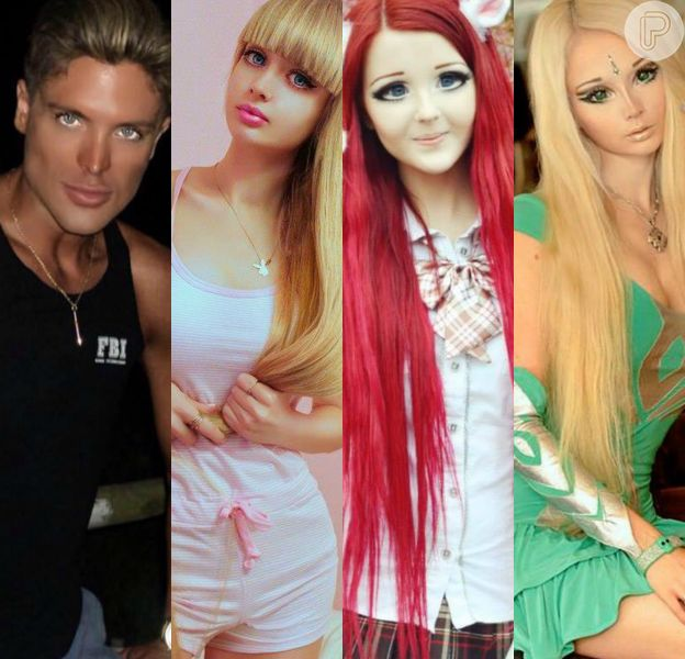 Eles parecem bonecos, mas são pessoas de carne e osso. Confira nossa galeria e impressione-se!