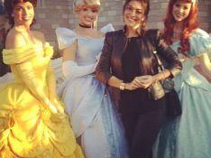 Juliana Paes tem 'dia mágico' ao lado de princesas na Disney, nos Estados Unidos