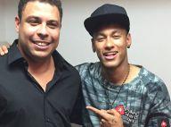 Neymar não quer superar recordes de Ronaldo em campo: 'Quero ser melhor que eu'