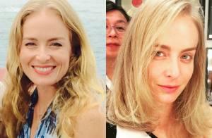 Angélica exibe novo corte de cabelo após acidente aéreo: 'Vida nova!'