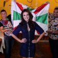 Paloma Bernardi comenta coroação no Instagram: 'Meu Deus...sou RAINHA da BATERIA da GRANDE RIO! Que honra, que alegria, que privilégio!'